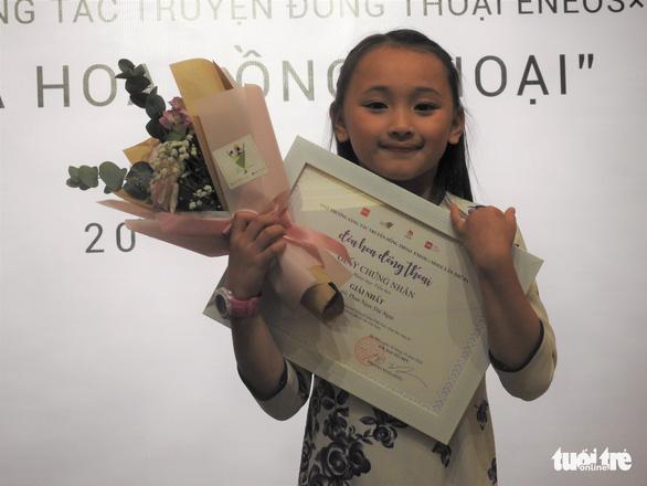 Em bé 8 tuổi ở Đà Lạt giành giải nhất cuộc thi viết truyện đồng thoại - Ảnh 2.
