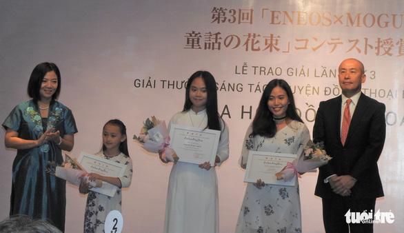 Em bé 8 tuổi ở Đà Lạt giành giải nhất cuộc thi viết truyện đồng thoại - Ảnh 1.
