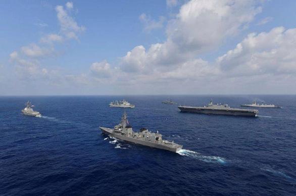 Úc trở lại tập trận hải quân cùng Mỹ, Nhật Bản, Ấn Độ - Ảnh 1.