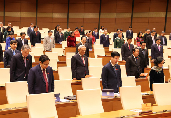 Quốc hội chia buồn sâu sắc với mất mát của gia đình cán bộ, chiến sĩ, người dân - Ảnh 2.