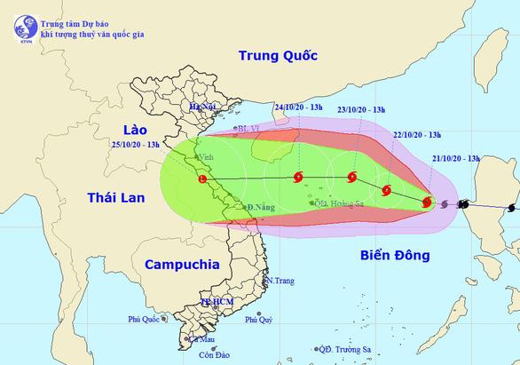 Bão số 8 vào đất liền, khả năng sẽ xuất hiện ngay bão số 9 - Ảnh 1.