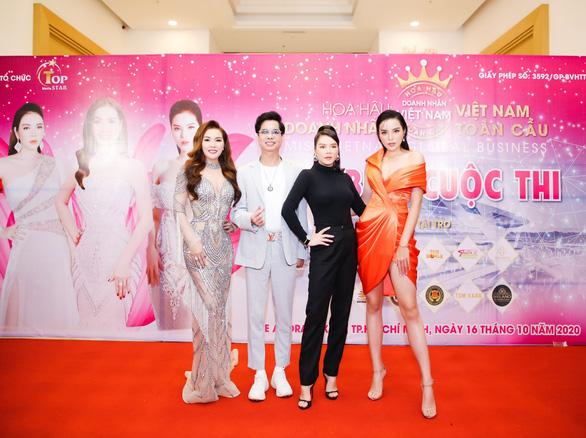 Dàn sao hội tụ tại họp báo Cuộc thi Hoa hậu Doanh nhân Việt Nam Toàn cầu 2020 - Ảnh 1.