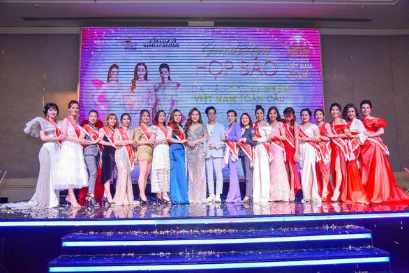 Dàn sao hội tụ tại họp báo Cuộc thi Hoa hậu Doanh nhân Việt Nam Toàn cầu 2020 - Ảnh 2.