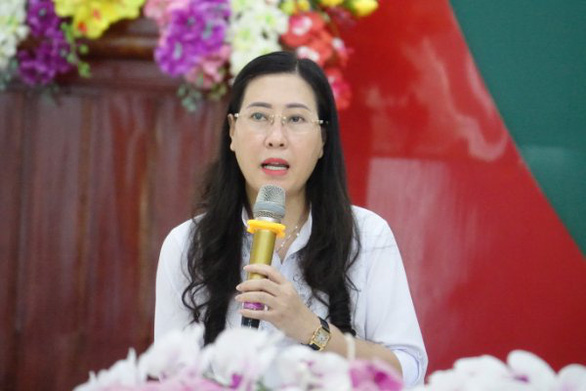 Bà Bùi Thị Quỳnh Vân tiếp tục làm bí thư Tỉnh ủy Quảng Ngãi - Ảnh 1.