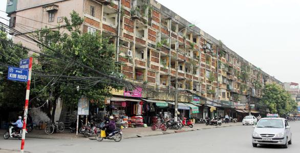 Sửa Luật nhà ở, gỡ vướng cho cải tạo chung cư cũ - Ảnh 1.