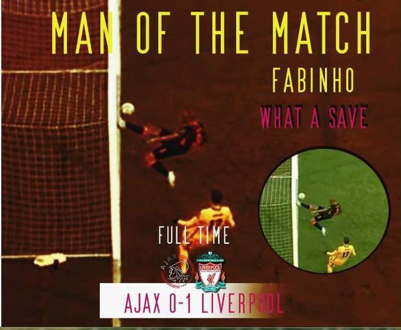 Fabinho gây bão với pha cứu thua không tưởng cho Liverpool - Ảnh 1.