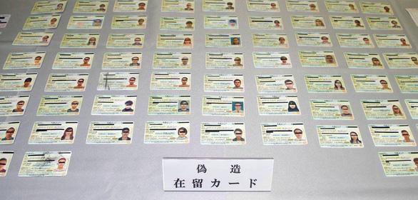Nhật điều tra đường dây người Trung Quốc làm giả thẻ thường trú cho lao động Việt Nam, Indonesia - Ảnh 1.