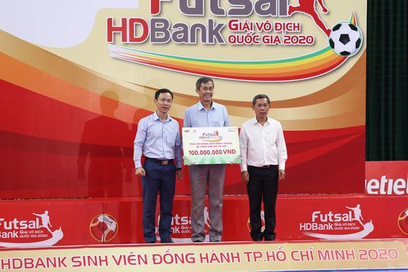 Giải futsal HDBank vô địch quốc gia 2020: khép lại với nhiều dấu ấn đặc biệt - Ảnh 5.