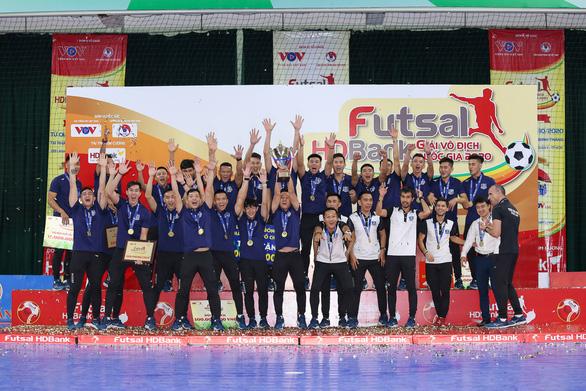 Giải futsal HDBank vô địch quốc gia 2020: khép lại với nhiều dấu ấn đặc biệt - Ảnh 1.