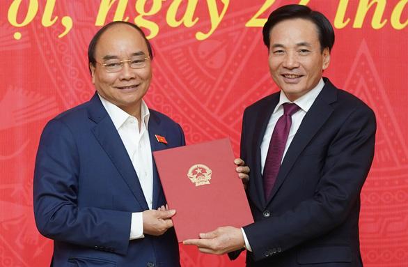 Cựu bí thư Điện Biên làm phó chủ nhiệm Văn phòng Chính phủ - Ảnh 1.