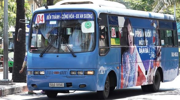 TP.HCM kết thúc đề án quảng cáo trên xe buýt - Ảnh 2.