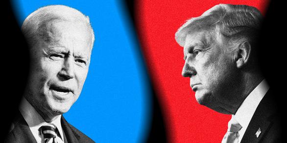 Trump - Biden tranh luận lần cuối: Nút tắt tiếng và bất ngờ tháng 10 - Ảnh 1.
