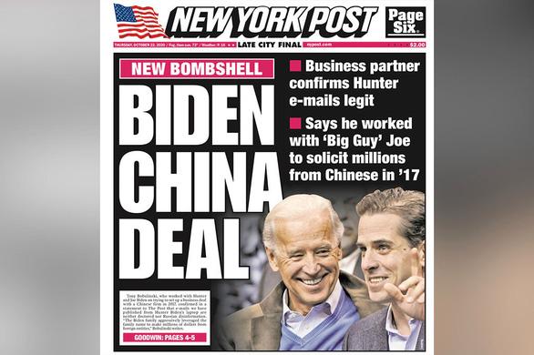 Làm ăn ở Trung Quốc: Ông lớn được chia phần chính là Joe Biden - Ảnh 1.