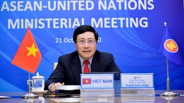 Việt Nam tái khẳng định lập trường của ASEAN về Biển Đông tại hội nghị với Liên Hiệp Quốc - Ảnh 1.