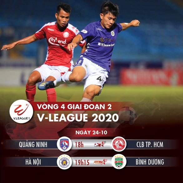Lịch trực tiếp V-League 24-10: CLB Hà Nội sẽ lên đầu bảng? - Ảnh 1.