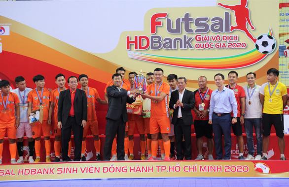 Giải futsal HDBank vô địch quốc gia 2020: khép lại với nhiều dấu ấn đặc biệt - Ảnh 4.