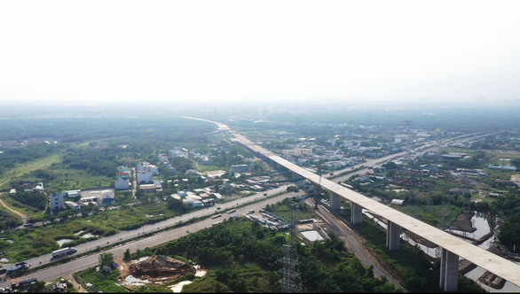Cao tốc Bến Lức - Long Thành dừng thi công vì tắc vốn - Ảnh 2.