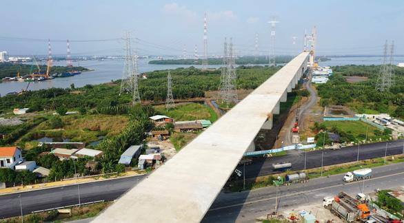 Cao tốc Bến Lức - Long Thành dừng thi công vì tắc vốn - Ảnh 1.