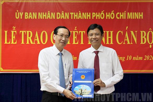 Ông Nguyễn Bá Thành là chủ tịch UBND quận Tân Bình - Ảnh 1.