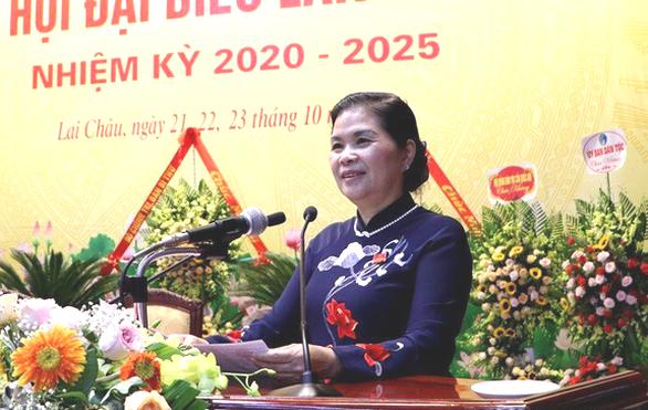 Bà Giàng Páo Mỷ tiếp tục làm bí thư Tỉnh ủy Lai Châu - Ảnh 1.