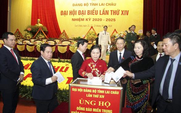 Bà Giàng Páo Mỷ tiếp tục làm bí thư Tỉnh ủy Lai Châu - Ảnh 2.