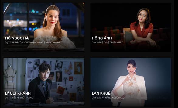 Hồng Ánh, Hồ Ngọc Hà, Lan Khuê dạy trực tuyến các khóa học TopClass - Ảnh 3.