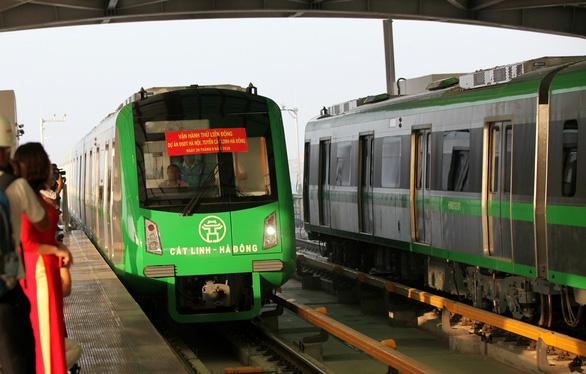 Cố gắng hoàn thành vận hành thử đường sắt Cát Linh - Hà Đông trong năm 2020 - Ảnh 1.