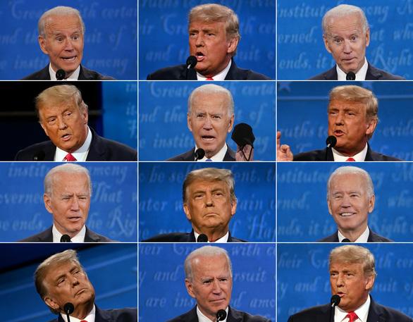 Tranh luận Trump - Biden lần cuối: Văn minh hơn nhưng có kịp đảo cục diện? - Ảnh 1.