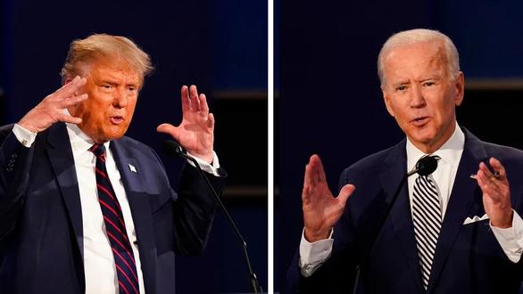 Trump - Biden so găng lần cuối - Ảnh 2.