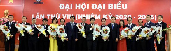Ông Trần Trọng Dũng tái đắc cử chủ tịch Hội Nhà báo TP.HCM - Ảnh 1.