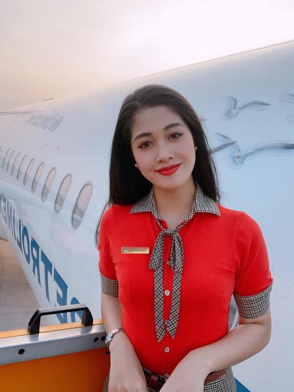 Cận cảnh sắc đẹp của các nữ tiếp viên hàng không tham gia đấu trường nhan sắc - Ảnh 11.