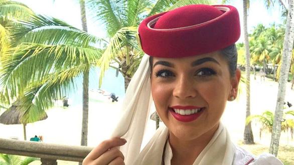 Cận cảnh sắc đẹp của các nữ tiếp viên hàng không tham gia đấu trường nhan sắc - Ảnh 2.