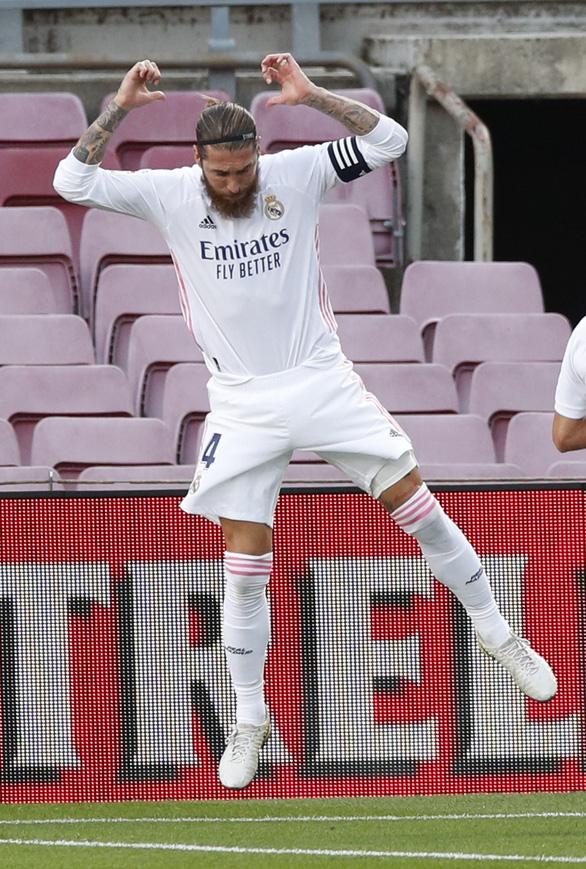 Real Madrid thắng Barca 3-1 tại Nou Camp - Ảnh 1.