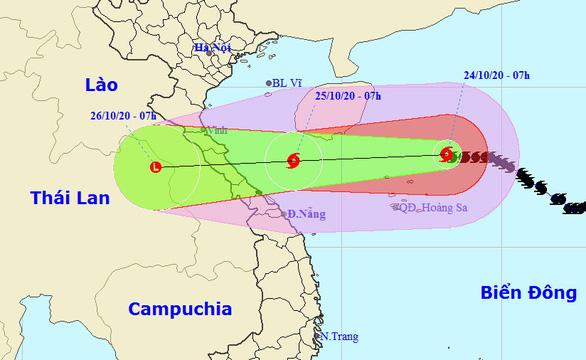 Áp thấp nhiệt đới mới từ Philippines dự báo thành bão vào Biển Đông - Ảnh 1.