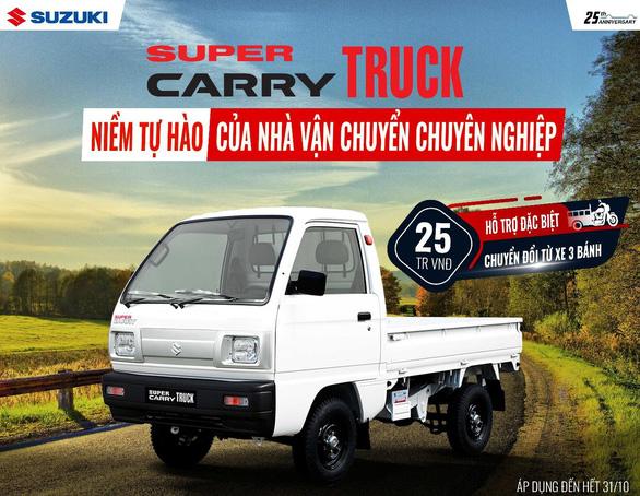 Suzuki tung khuyến mãi đặc biệt cho xe tải nhẹ - Ảnh 2.