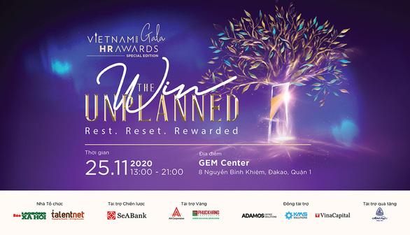 Gala trao giải Vietnam HR Awards 2020 – phiên bản đặc biệt - Ảnh 1.