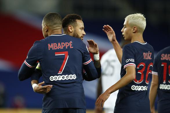 Song sát Neymar và Mbappe cùng tỏa sáng giúp PSG thắng 4 sao - Ảnh 1.