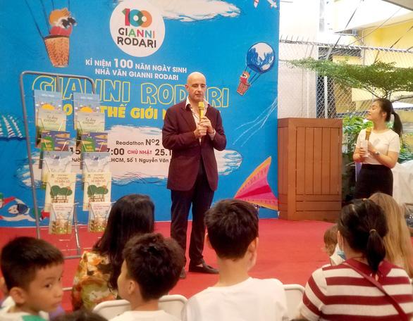 Đọc truyện Gianni Rodari khơi gợi các bé ý tưởng bảo vệ môi trường - Ảnh 1.