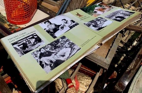 Nhiều kỷ vật ở nhà lưu niệm Đại tướng Võ Nguyên Giáp bị hư hỏng vì lũ - Ảnh 2.
