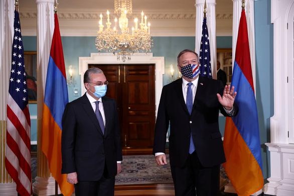 Azerbaijan và Armenia đạt được thỏa thuận ngừng bắn mới, áp dụng từ 26-10 - Ảnh 2.