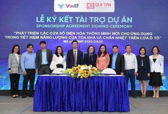 Dự án của ĐH Duy Tân nhận tài trợ của quỹ VinIF - Ảnh 1.