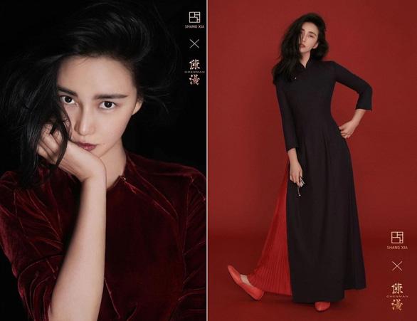 Nữ nhiếp ảnh gia Trung Quốc gây tranh cãi vì thiết kế giống áo dài Việt Nam - Ảnh 2.