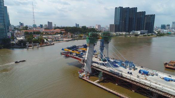 Cầu Thủ Thiêm 2 và 3 dự án khác không thể hoàn thành trong năm 2020 - Ảnh 1.