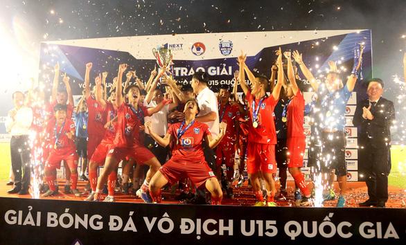 PVF vô địch U15 quốc gia 2020 - Ảnh 1.