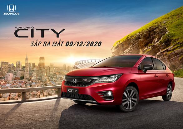 Honda City thế hệ thứ 5 sắp ra mắt thị trường Việt Nam - Ảnh 1.
