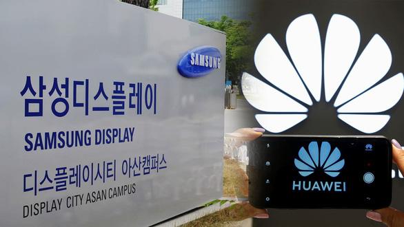 Samsung Display được Mỹ cấp phép làm ăn với Huawei - Ảnh 1.
