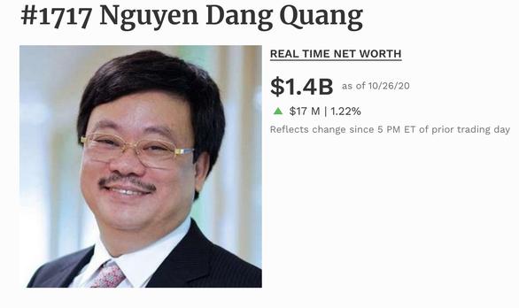 Câu lạc bộ tỉ phú đô la Việt Nam tăng thêm 2 người, tài sản thêm hàng tỉ USD - Ảnh 5.