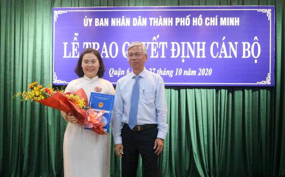 Bà Lê Thị Thanh Thảo làm chủ tịch UBND quận 6 - Ảnh 1.