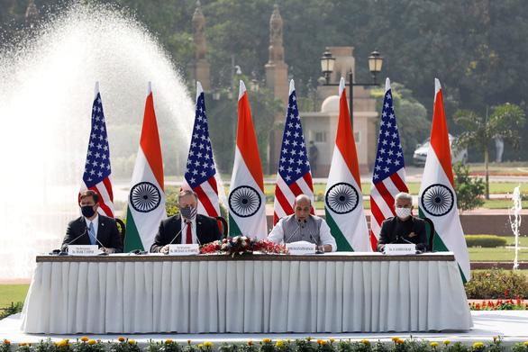 Mỹ ký thỏa thuận quân sự nhạy cảm với Ấn Độ - Ảnh 1.