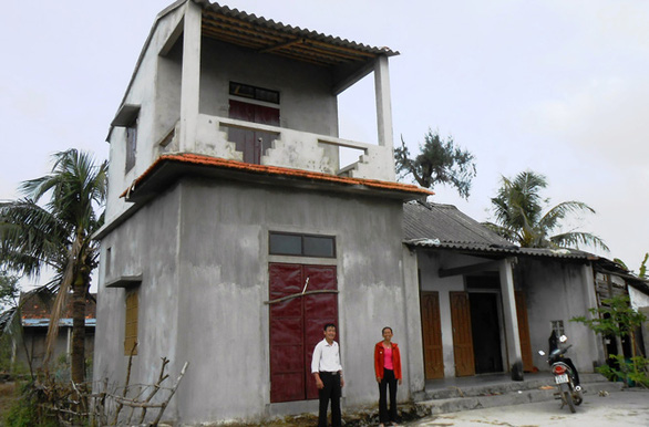 Chính phủ hỗ trợ người nghèo xây nhà chống bão lũ - Ảnh 1.